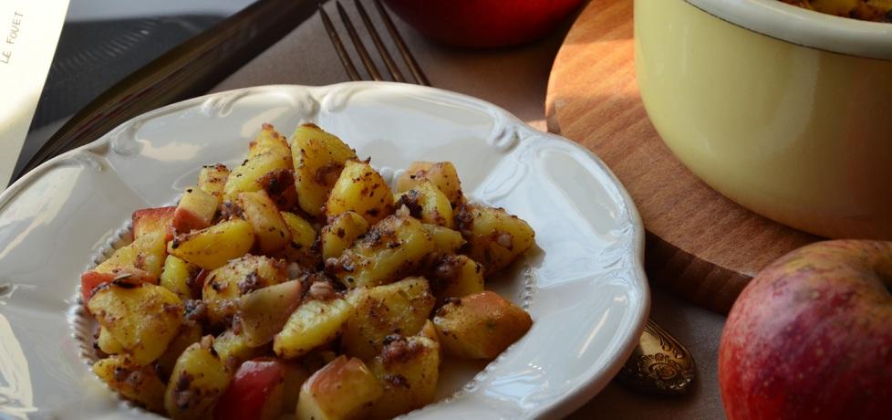 Sałatka z ziemniaków, jabłek i kaszanki (autor: renata22 ...