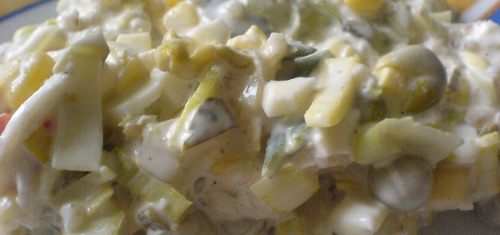 Sałatka z konserwowego selera (autor: misiek123)
