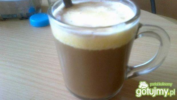 Przepis  delikatna kawa z jajkiem ;-) przepis