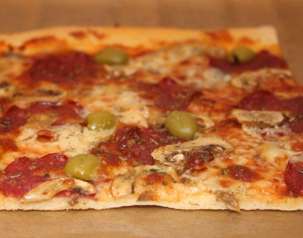 Przepis  domowa pizza pepperoni przepis