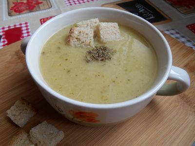 Zupa krem cukiniowo