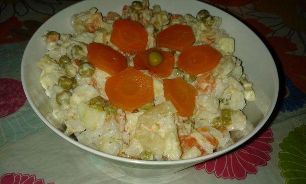 Przepis  sałatka ryżowa wg anety przepis