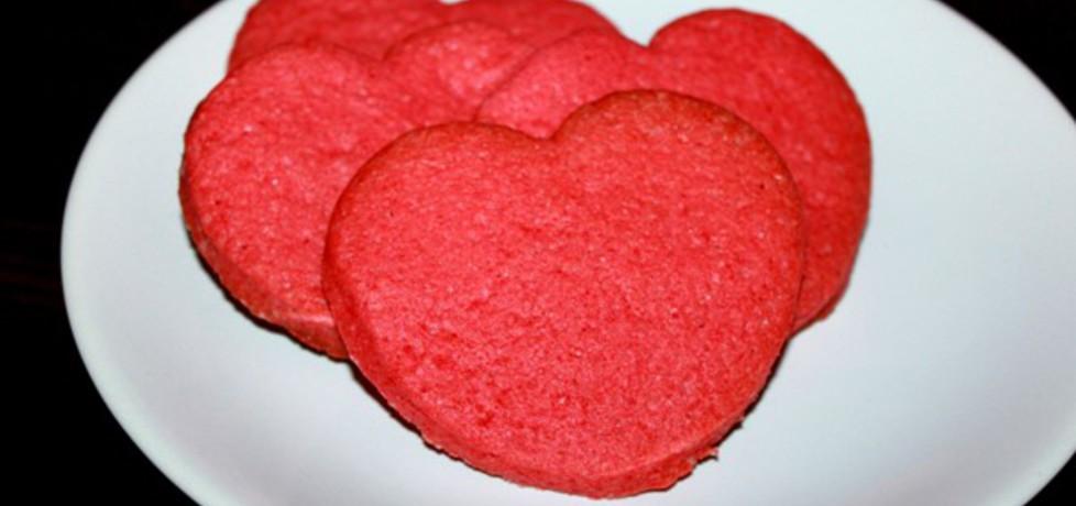 Kolorowe ciasteczka serduszka (autor: smakolykijoanny ...