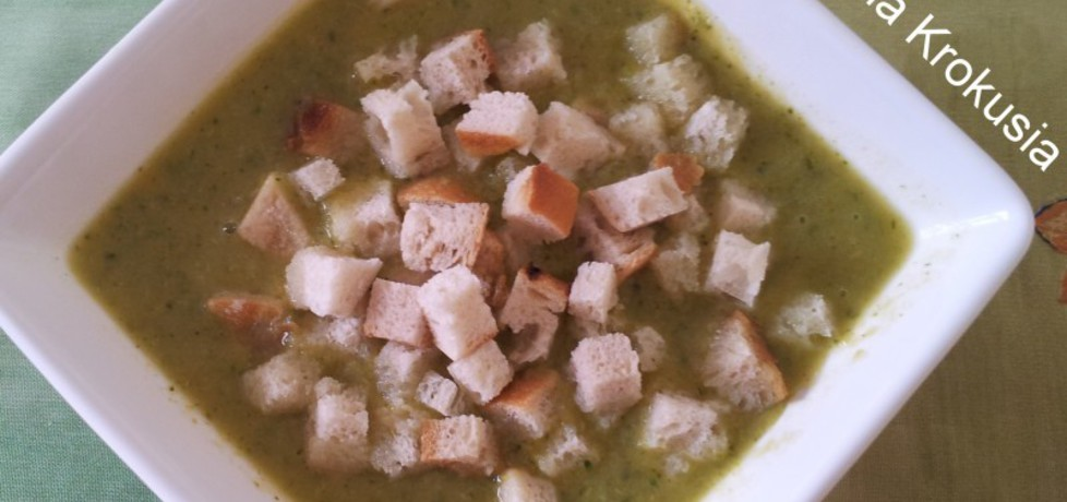 Zupa krem z brokułów (autor: krokus)