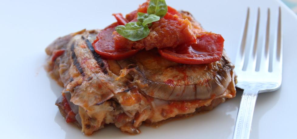 Zapiekanka z bakłażanów, mozzarelli i pomidorów (autor: iwonadd ...