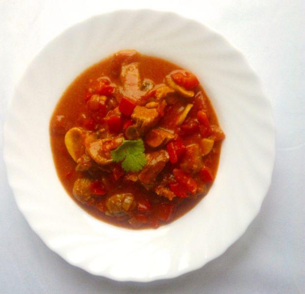 Przepis  zupa a'la strogonow przepis