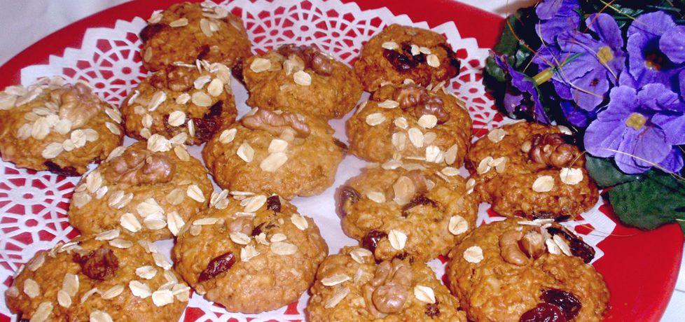 Zdrowe ciasteczka owsiane (autor: gosia56)