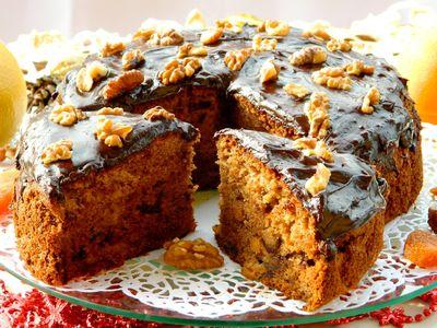 Ciasto herbaciane z bakaliami