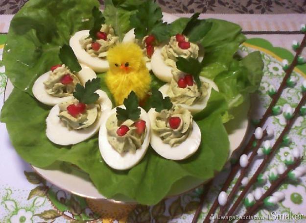 Pyszne jajka faszerowane na wielkanoc