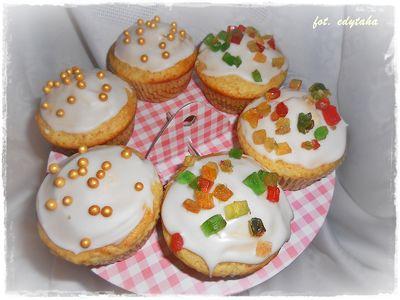 Muffiny cytrynowe na kefirze