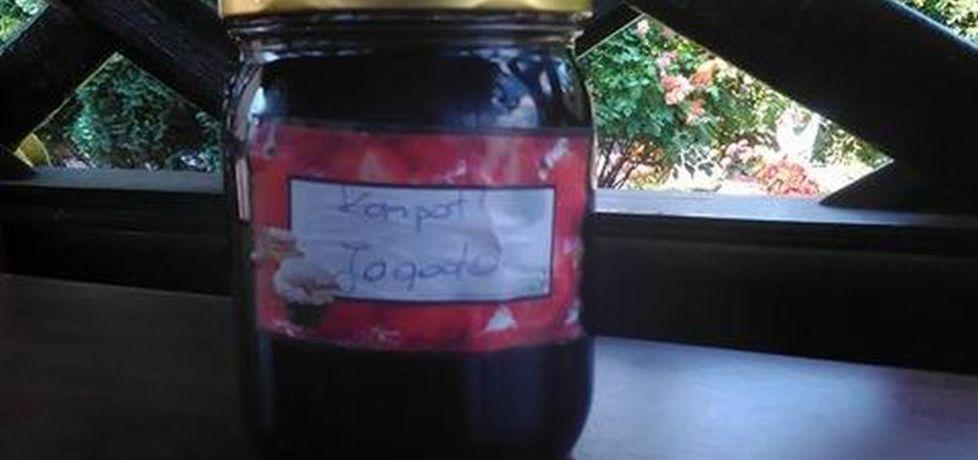 Kompot z jagód na zimę (autor: kd045)