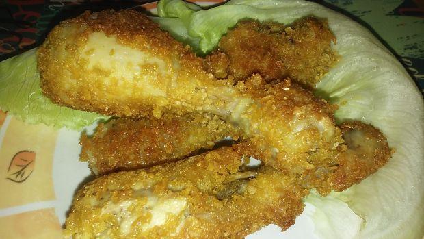 Przepis  kurczak w płatkach kukurydzianych przepis