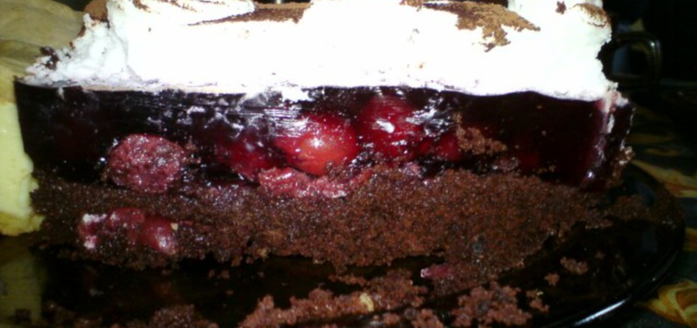 Tort na babeczkach z wiśniami (autor: haneczka1)