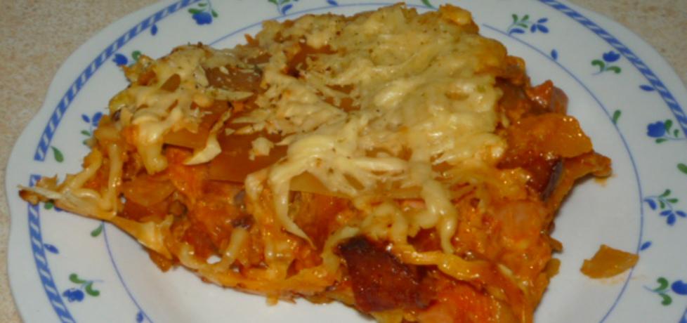Zapiekanka z makaronem lasagne (autor: gosia4747 ...