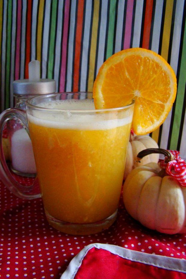 Przepis  napój pomarańczowo imbirowy przepis