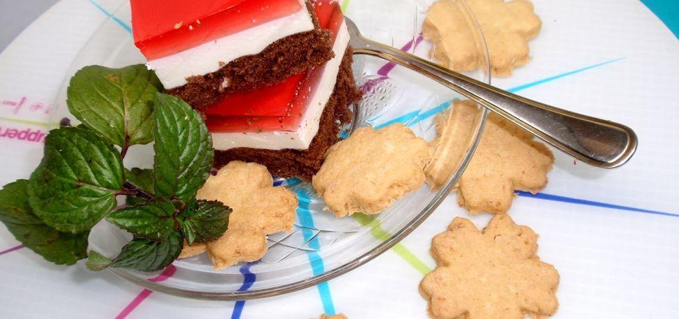 Ciasto trzy kolory (autor: gosia56)