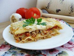 Włoski przekładaniec  czyli lasagne w polskim stylu