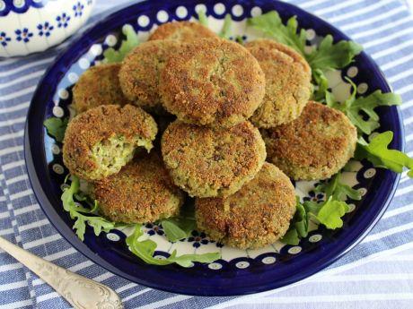 Przepis  kotlety z brokuła i kaszy gryczanej przepis