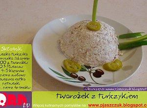 Twarożek z tuńczykiem  prosty przepis i składniki