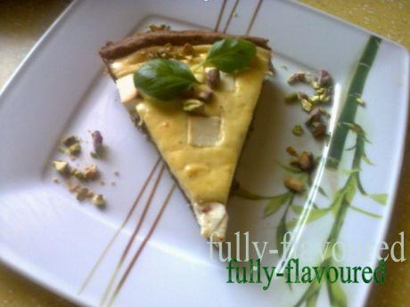 Przepis  wytrawna tarta serowa we włoskim stylu przepis