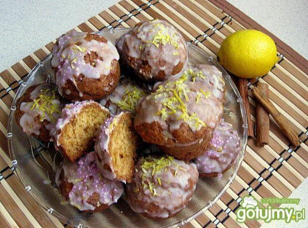 Przepis  muffinki cytrynowo-cynamonowe przepis