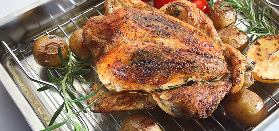 Kurczak zagrodowy pieczony ze świeżymi ziołami i cytryną konrada ...