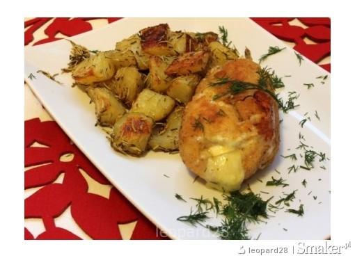 Roladki z kurczaka z suszonymi pomidorami i serem pleśniowym ...