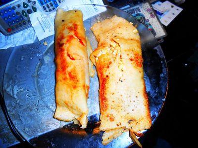 Naleśniki z jajkiem piczarkami papryką pikantne przepisy ivet w kuchni