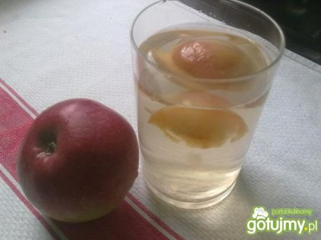 Przepis: mój kompot z jabłek. gotujmy.pl