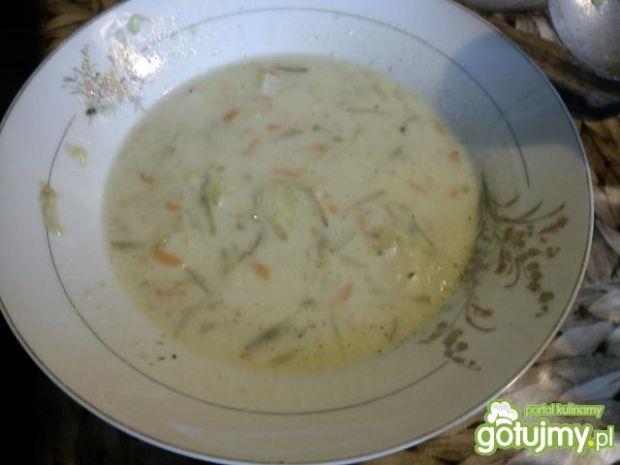 Przepis  zupa ogórkowa wg karolina1869 przepis