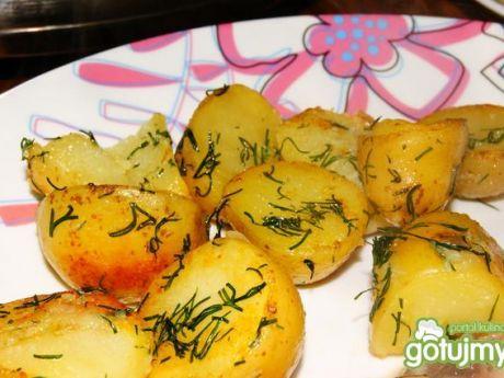 Przepis  smażone ziemniaki z koperkiem przepis