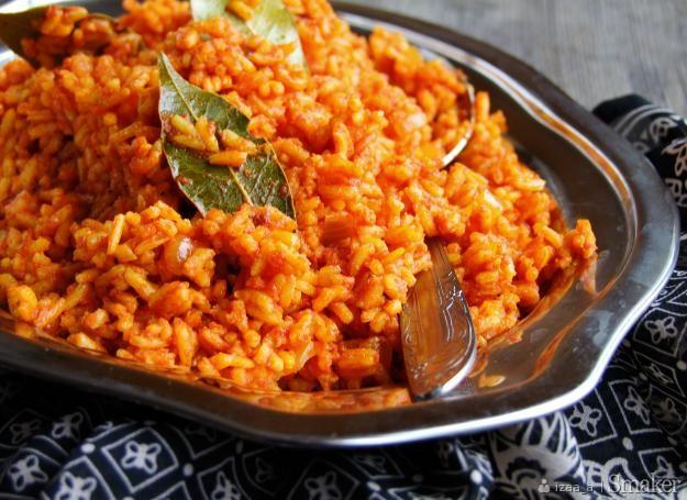 Jollof rice...ryż po nigeryjsku