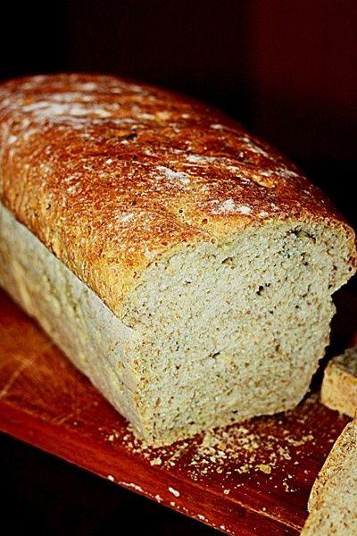 Przepis  chleb z pestkami dyni i otrębami żytnimi przepis