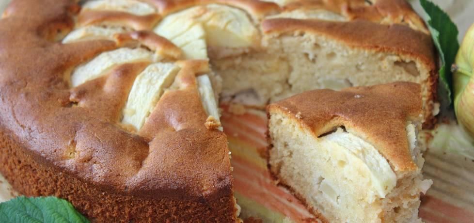 Marcepanowe ciasto z jabłkami (autor: mniam)