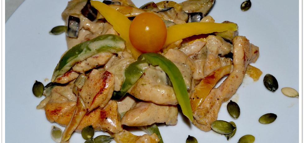 Kurczak z bakłażanem (autor: christopher)