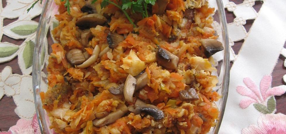 Ryba po grecku z pieczarkami (autor: dorota59)