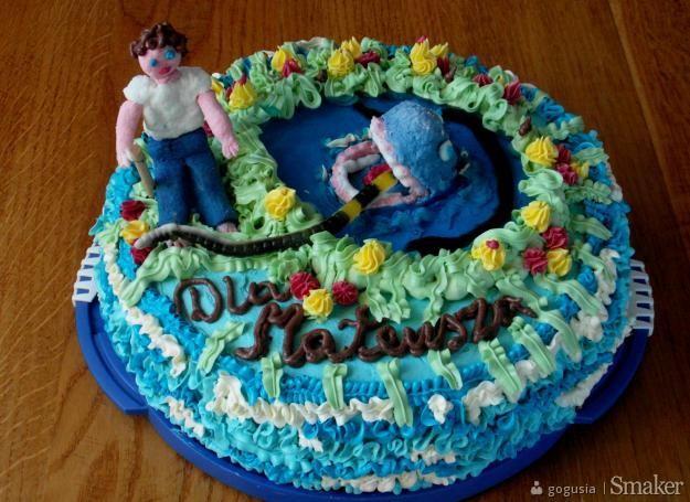 Tort dla miłośnika wędkowania.