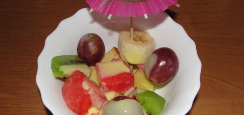 Sałatka owocowa z adwokatem (autor: alaaa)