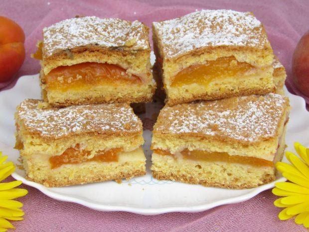 Przepis  szybkie ciasto morelowo- nektarynkowe przepis