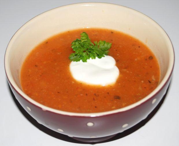 Przepis  zupa pomidorowa-krem przepis