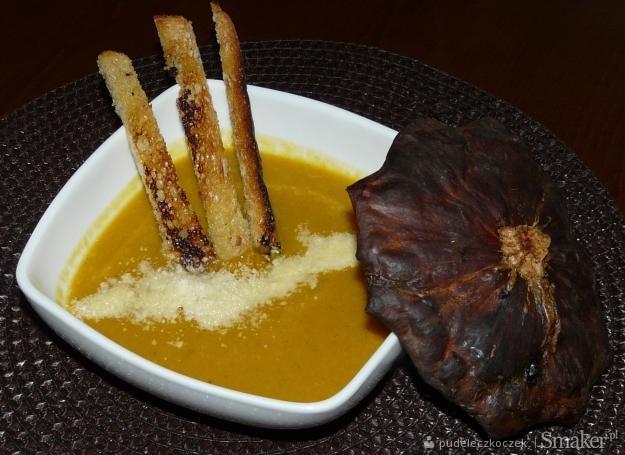 Włoska zupa krem z dyni