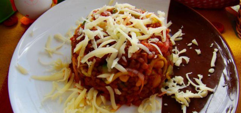 Kasza gryczana z kiełbasa i pomidorami (autor: iwa643 ...