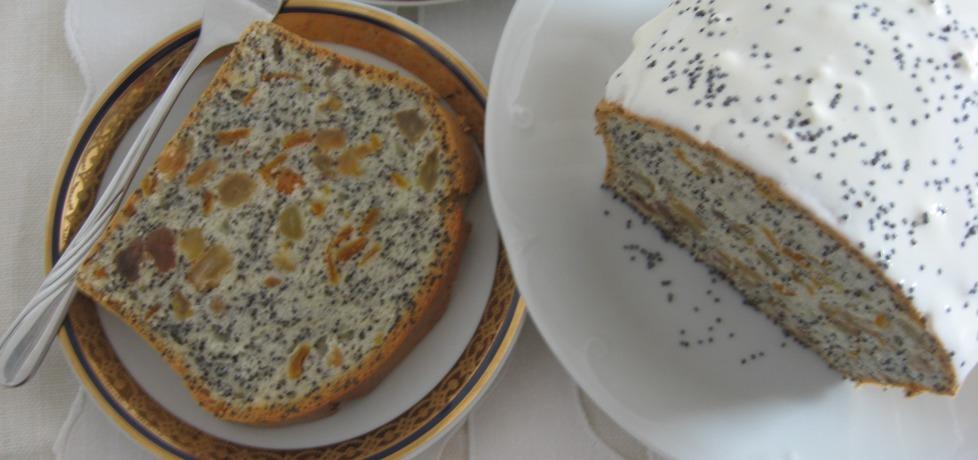 Ciasto z białek z bakaliami (autor: anemon)