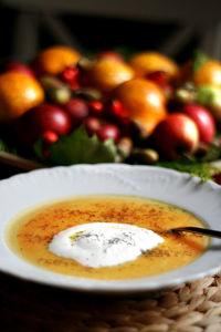 Zupa krem dyniowo