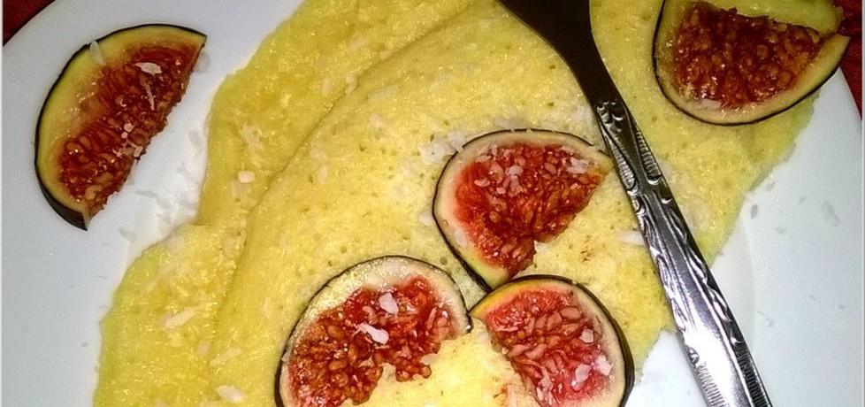 Kokosowy omlet z figami (autor: magdalenaic)