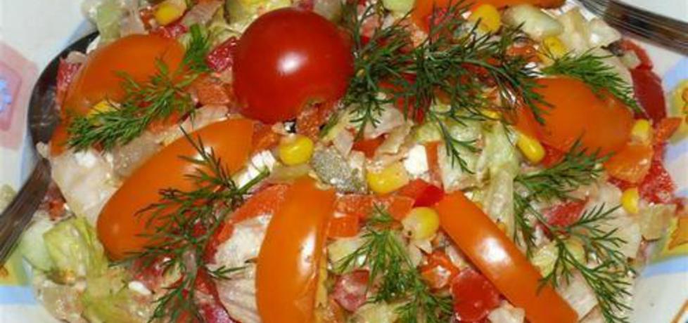 Salatka jesienna (autor: aleksandra51)