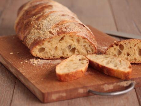 Przepis  chleb z dużymi dziurami przepis