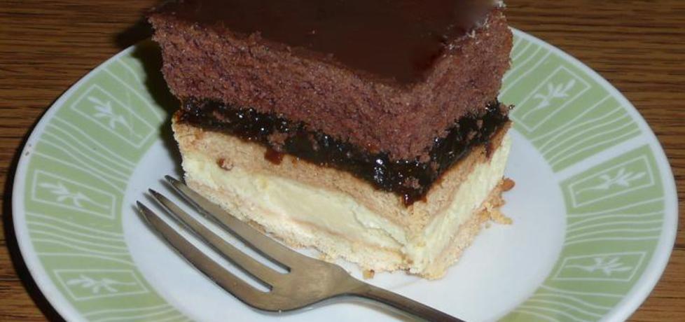 Ciasto z serem i śliwkami (autor: justyna92)