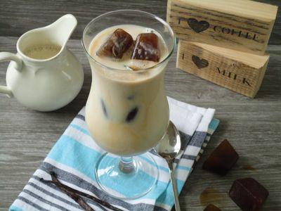 Mrożona kawa z wanilią