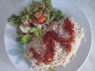 Ryż z warzywami czyli szybki zdrowy obiad